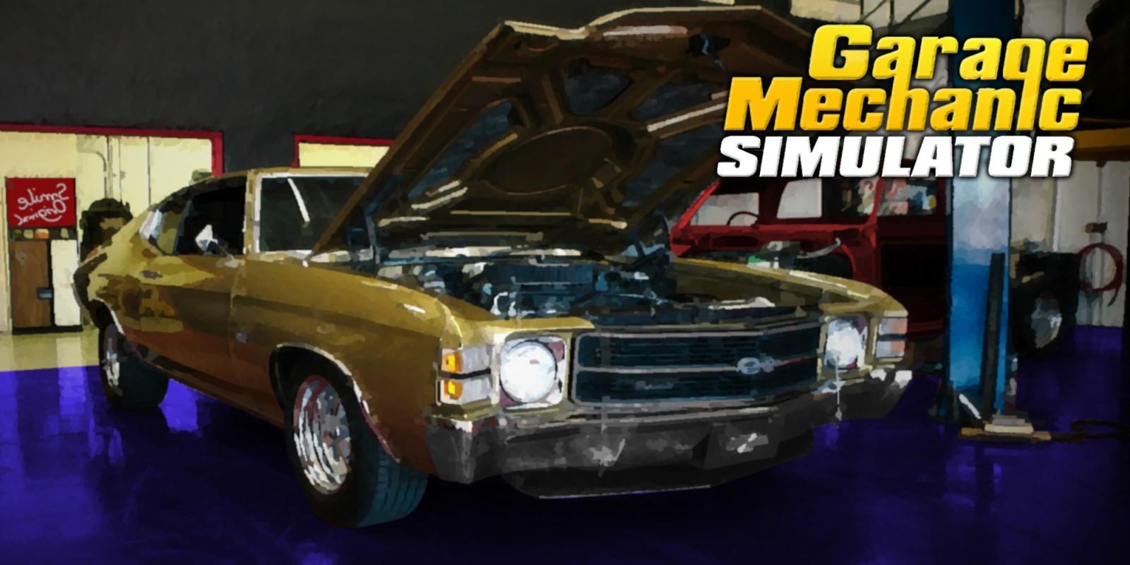 Garage Mechanic Simulator Nintendo Switch Download Software