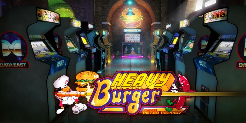 Johnny Turbo's Arcade: Heavy Burger