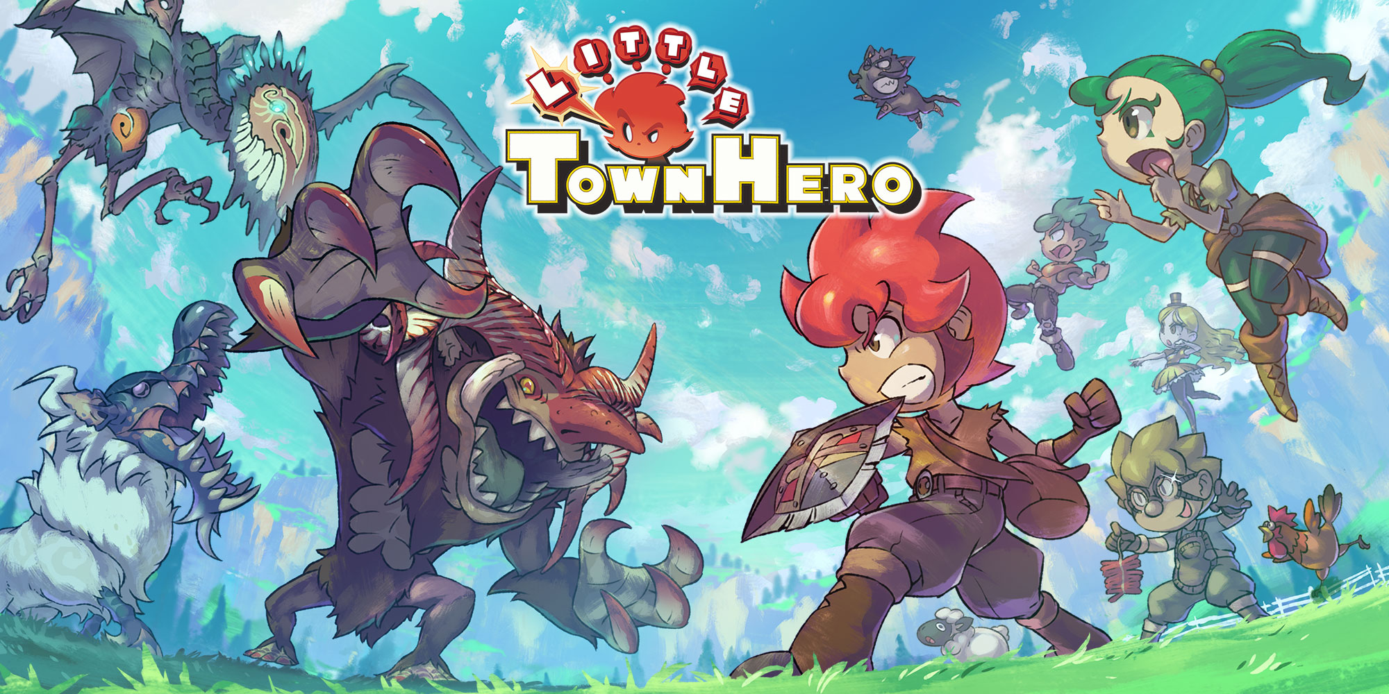 Little Town Hero   Nintendo Switch download software   Games