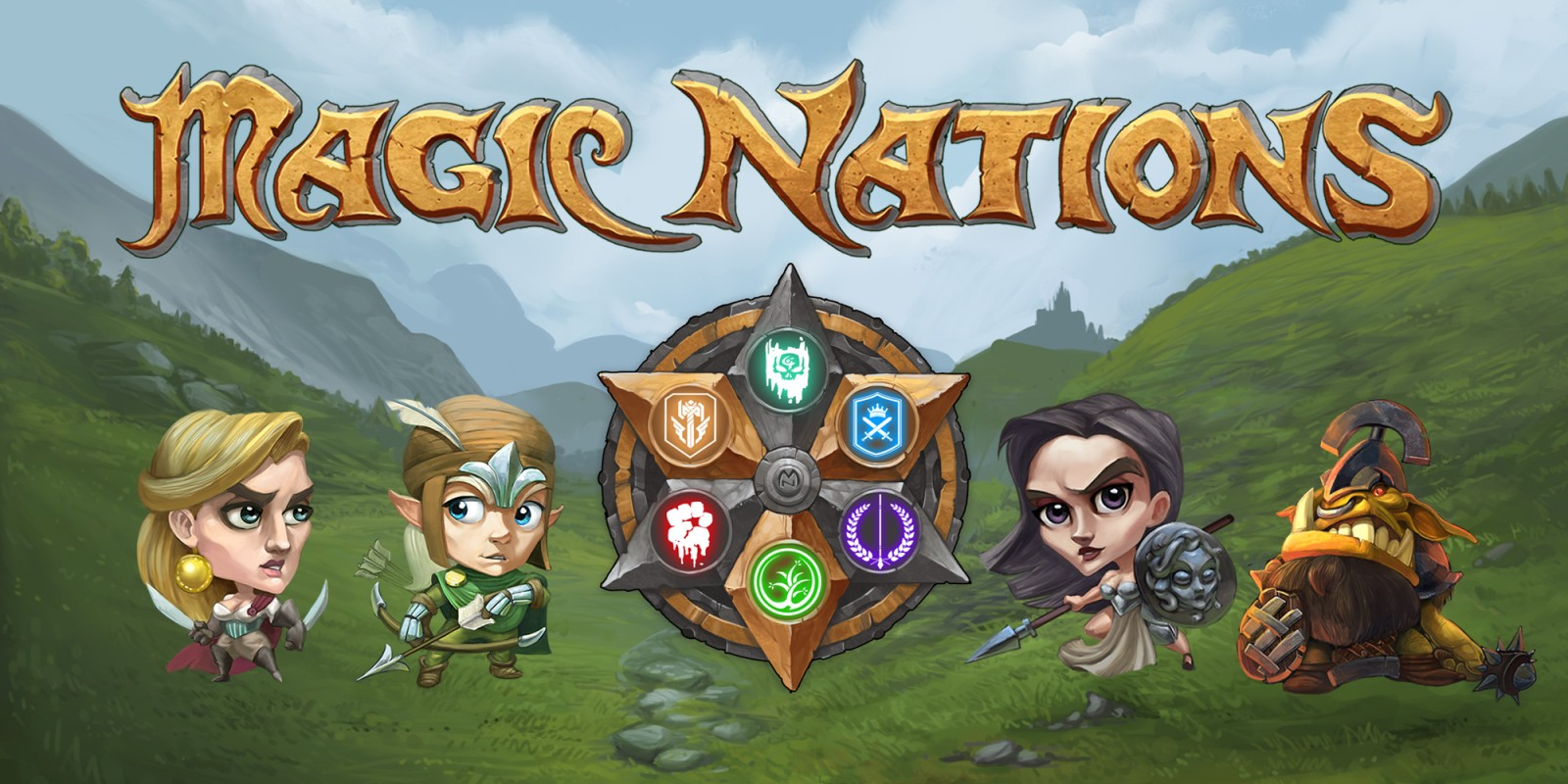 Magic Nations Nintendo Switch Download Software Games