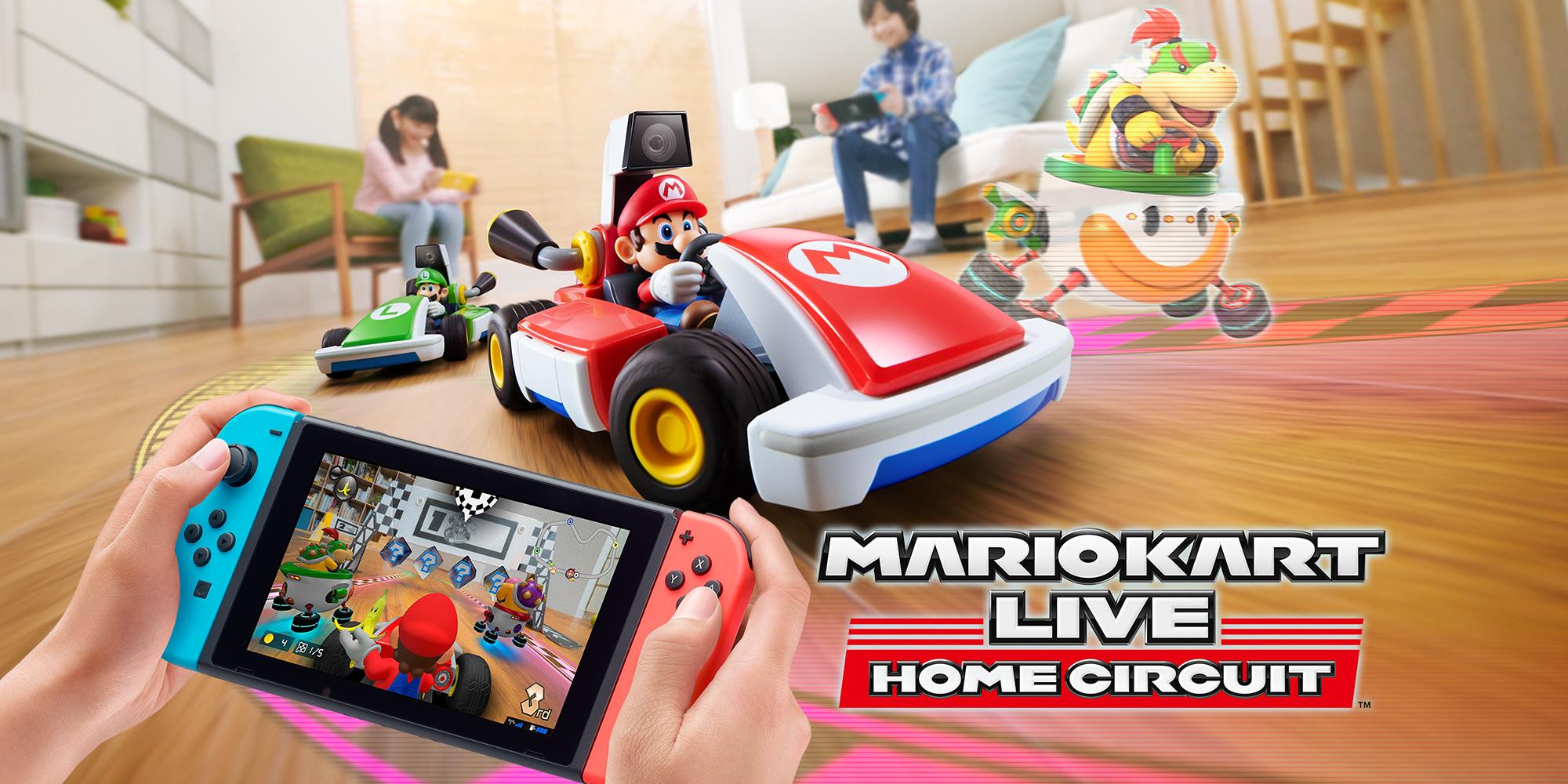 Mario Kart Live: Home Circuit | Загружаемые программы Nintendo Switch | Игры | Nintendo