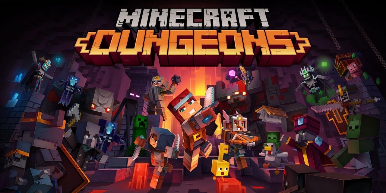 Minecraft Dungeons  Nintendo Switch  Jogos  Nintendo