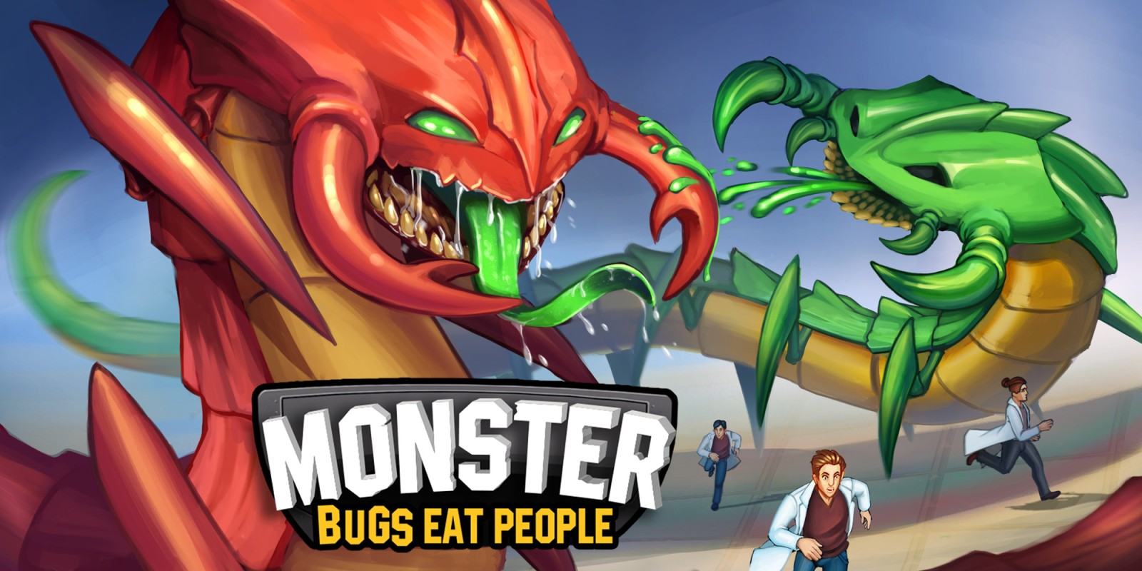 Monster Bugs Eat People