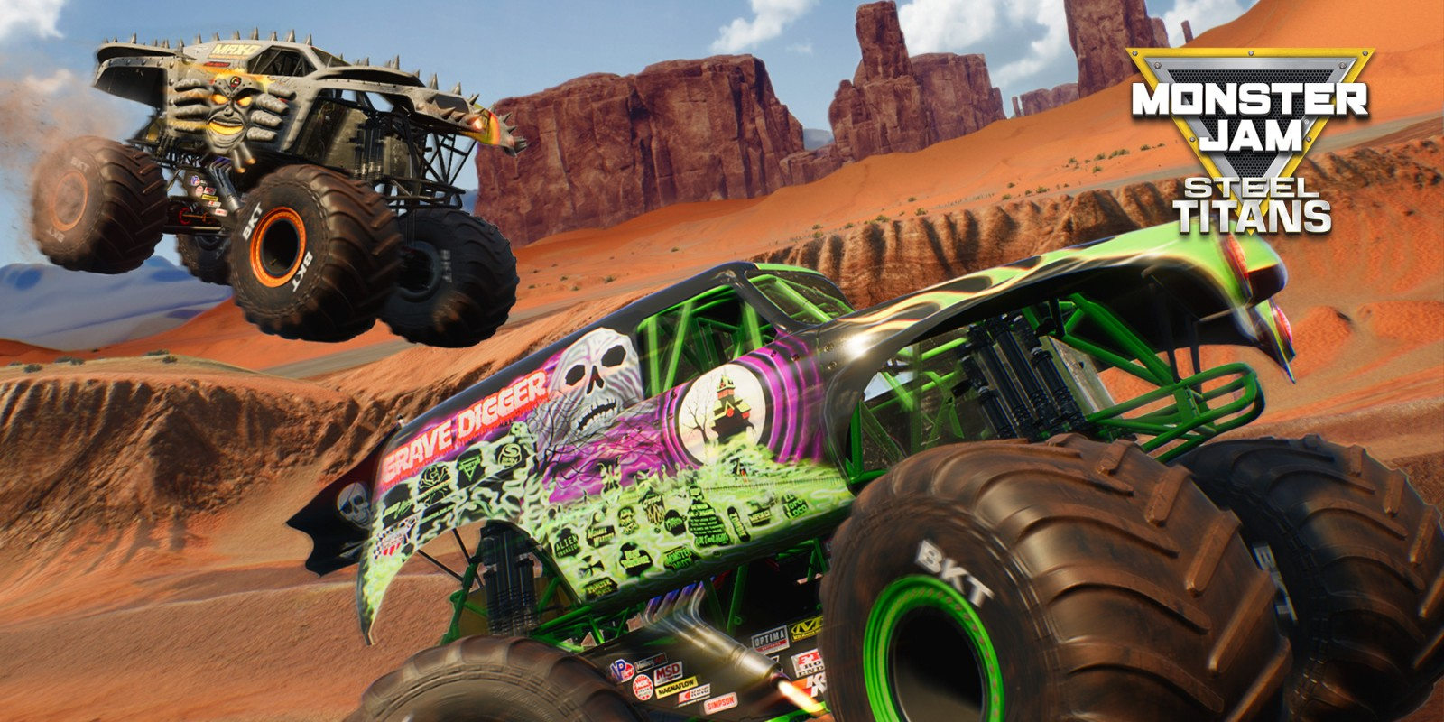 Monster Jam Steel Titans Nintendo Switch Download Software Games Nintendo