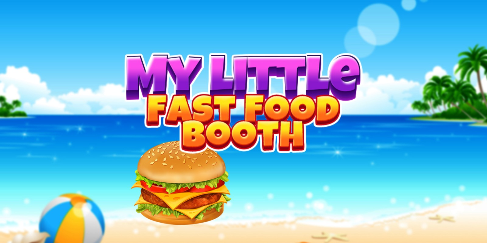 My little fast food booth