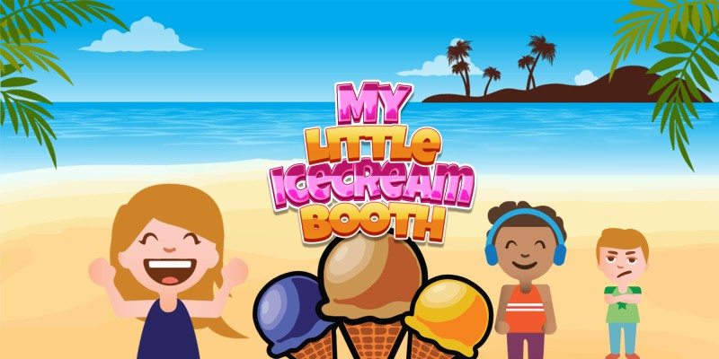 My little IceCream Booth