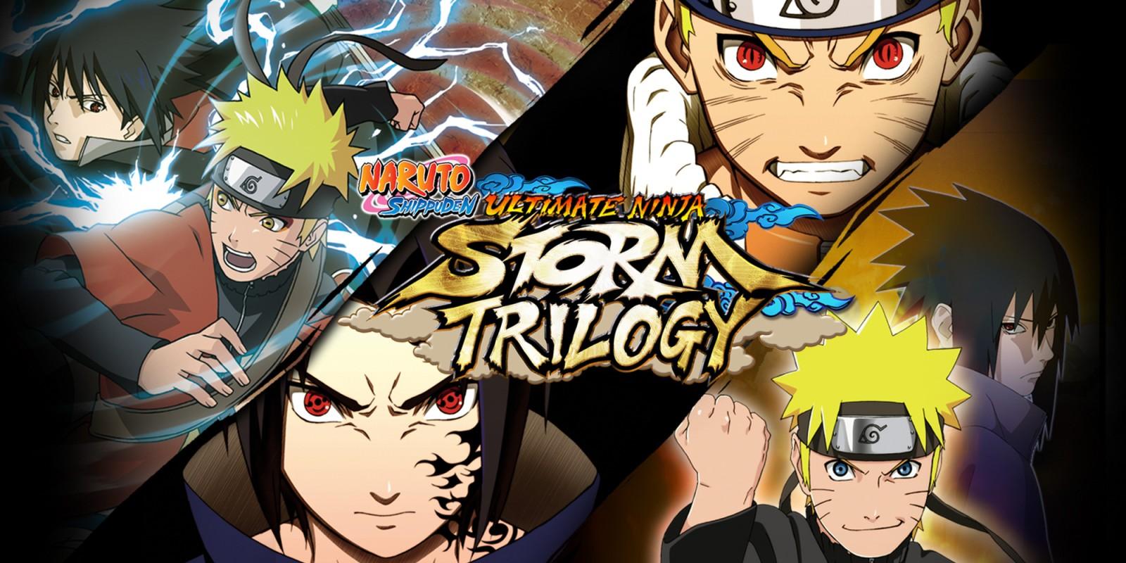 NARUTO SHIPPUDEN: Ultimate Ninja STORM Trilogy  Nintendo Switch download software  Games