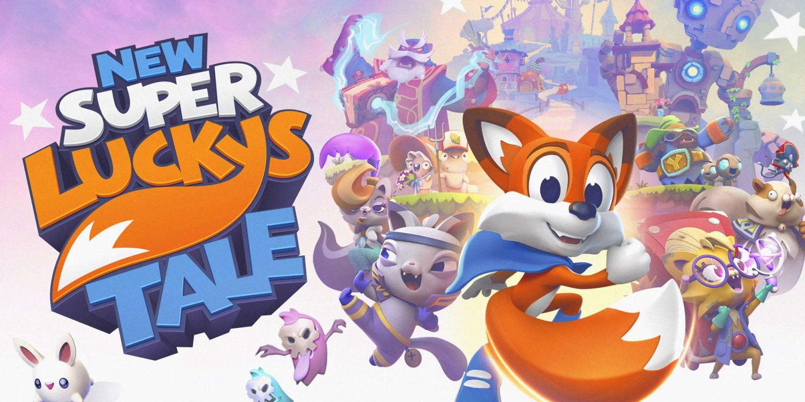 New Super Lucky's Tale   Aplicações de download da Nintendo Switch   Jogos    Nintendo