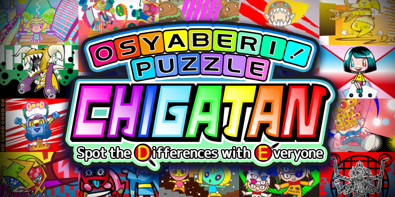 Osyaberi! Puzzle Chigatan ~Spot the Differences with Everyone~