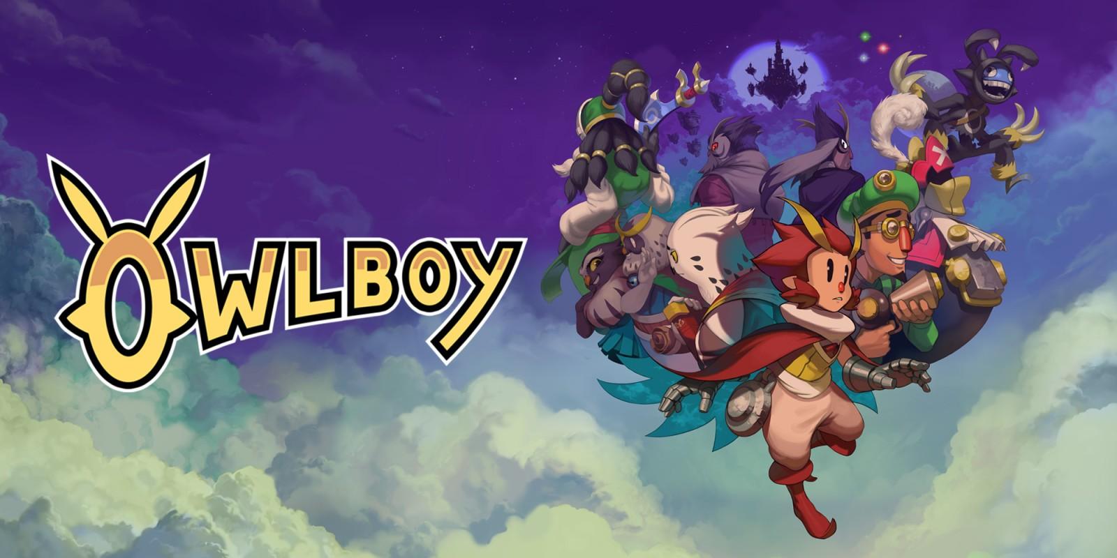 Resultado de imagen de portada Owlboy nintendo switch