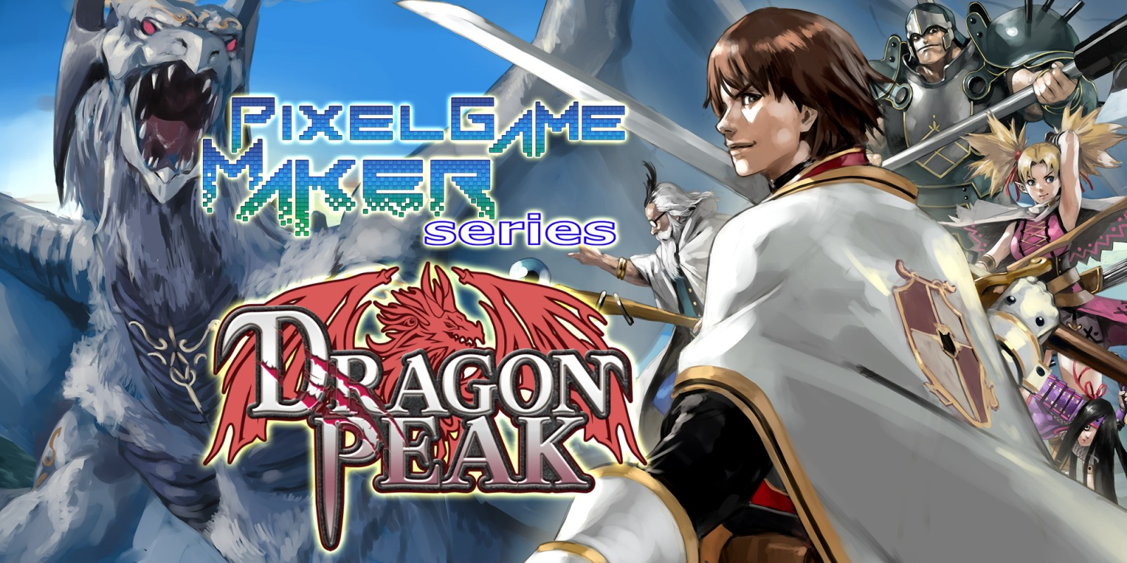 Pixel Game Maker Series DRAGON PEAK