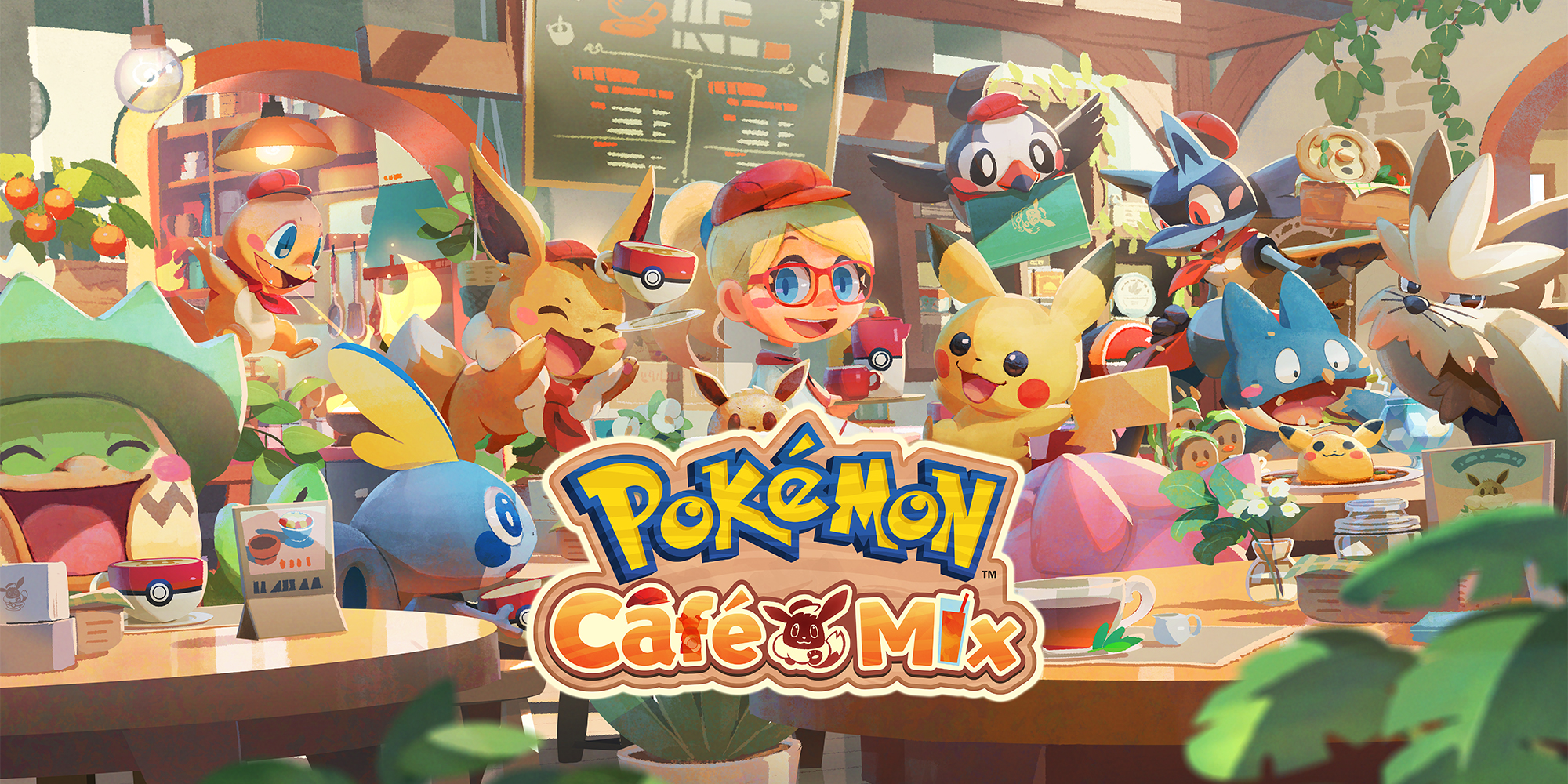 Pokémon Café Mix | Giochi scaricabili per Nintendo Switch | Giochi |  Nintendo