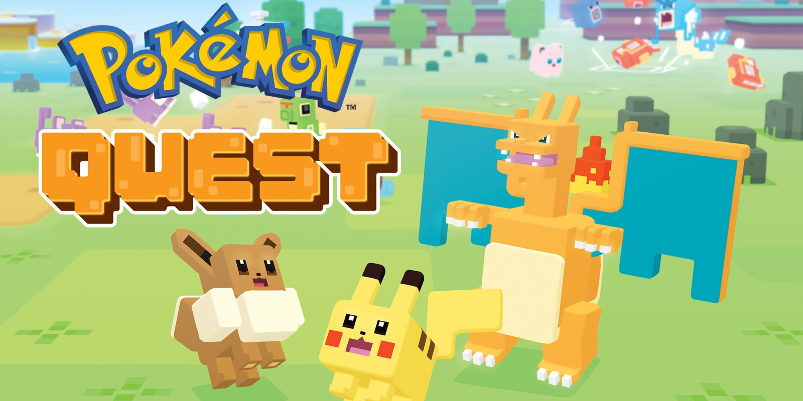 Pokemon Quest Programas Descargables Nintendo Switch Juegos