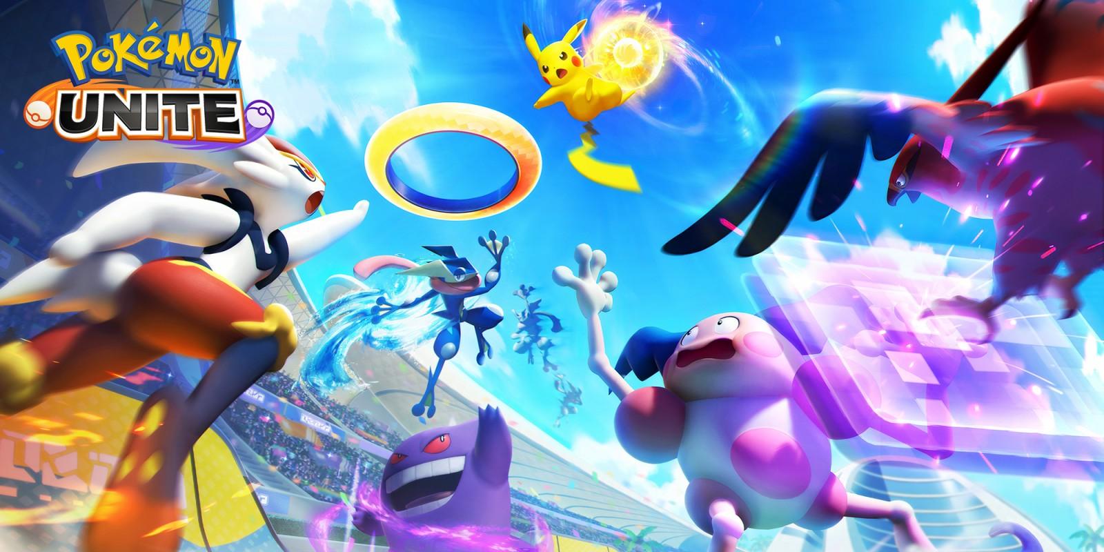Pokémon UNITE nintendo switch costo pago