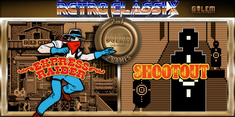 Retro Classix 2-in-1 Pack: Express Raider & Shootout