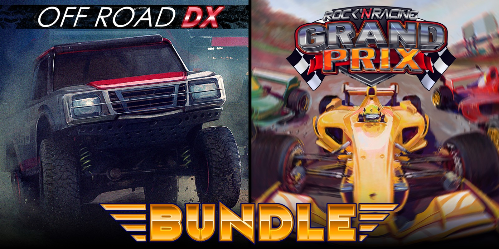 Rock 'N Racing Bundle Off Road & Grand Prix