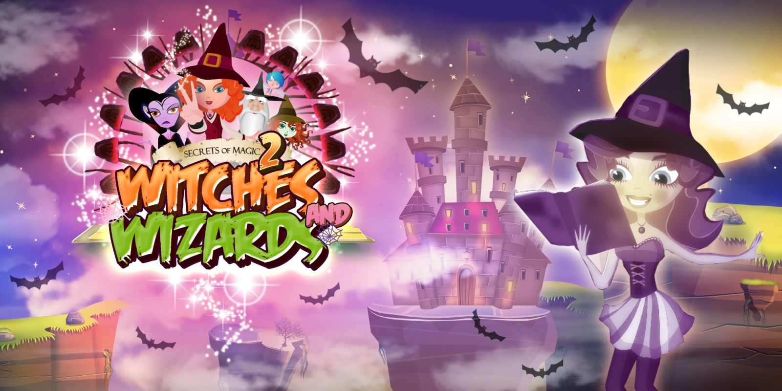 Secrets of Magic 2 - Witches & Wizards