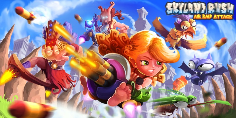 Skyland Rush - Air Raid Attack