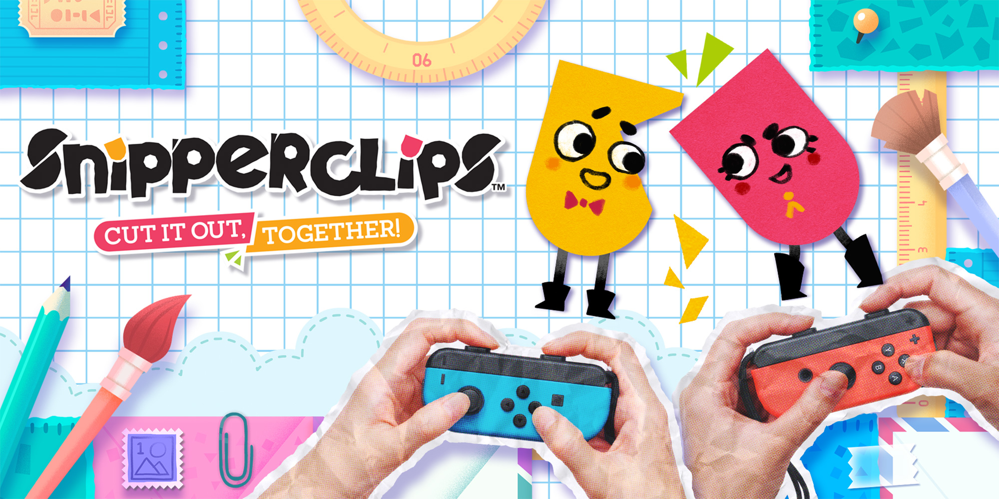 Snipperclips – Cut it out, together!