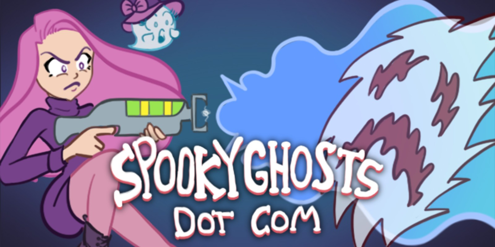 Spooky Ghosts Dot Com