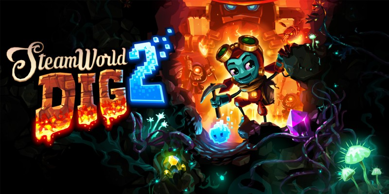 Image result for steamworld dig 2 switch 800x800