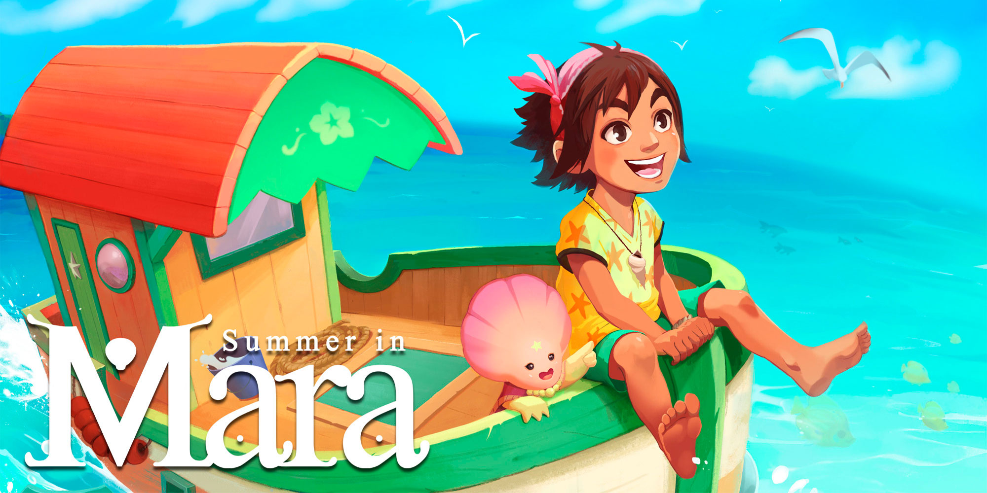 Summer in Mara | Programas descargables Nintendo Switch | Juegos | Nintendo