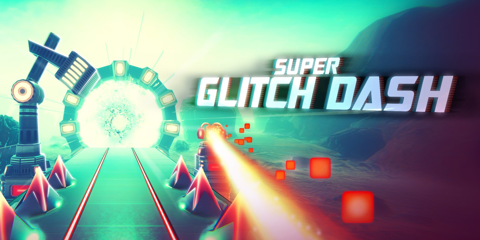 Super Glitch Dash