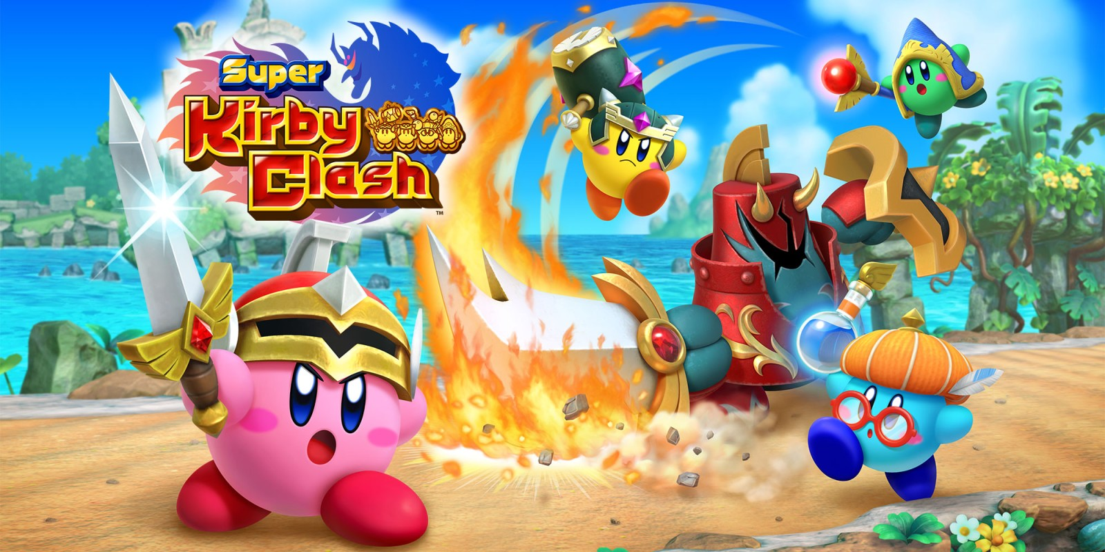 Super Kirby Clash | Nintendo Switch download software