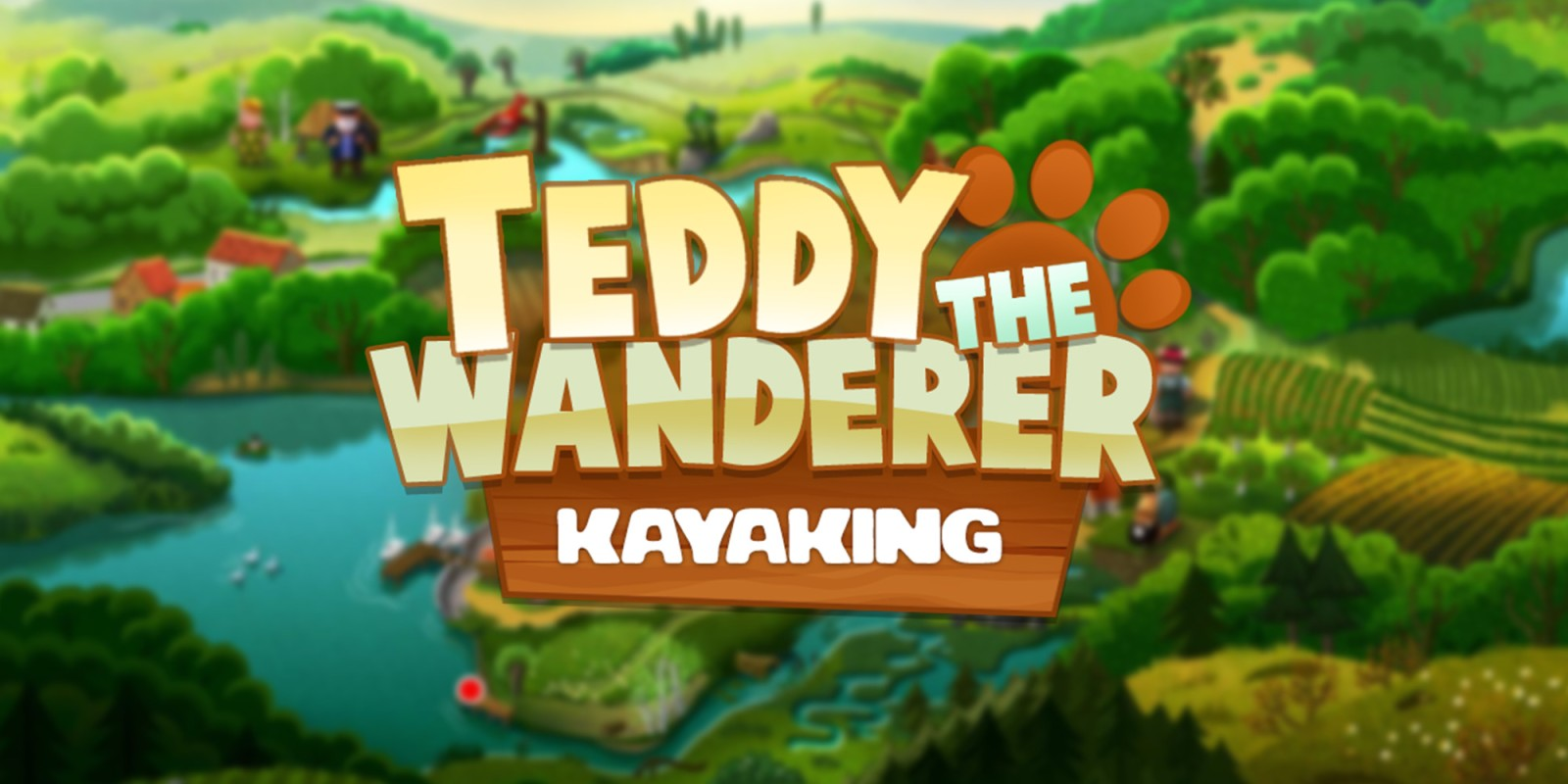 Teddy the Wanderer: Kayaking