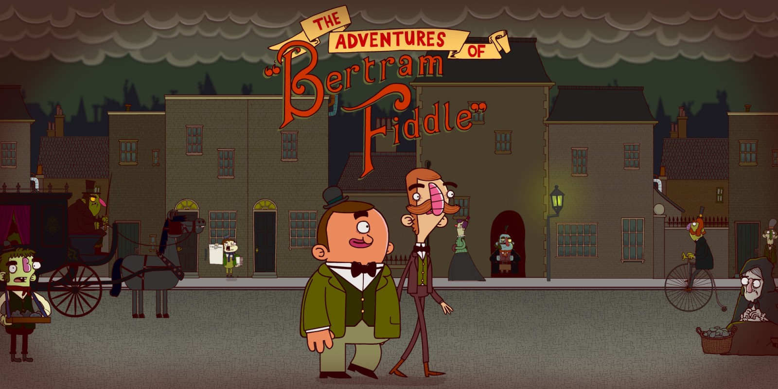 Le Avventure di Bertram Fiddle: Episodio 1: Un Affare Oscuro