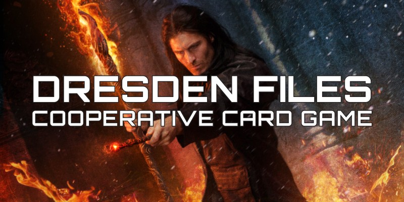 The Dresden Files Cooperative Card Game