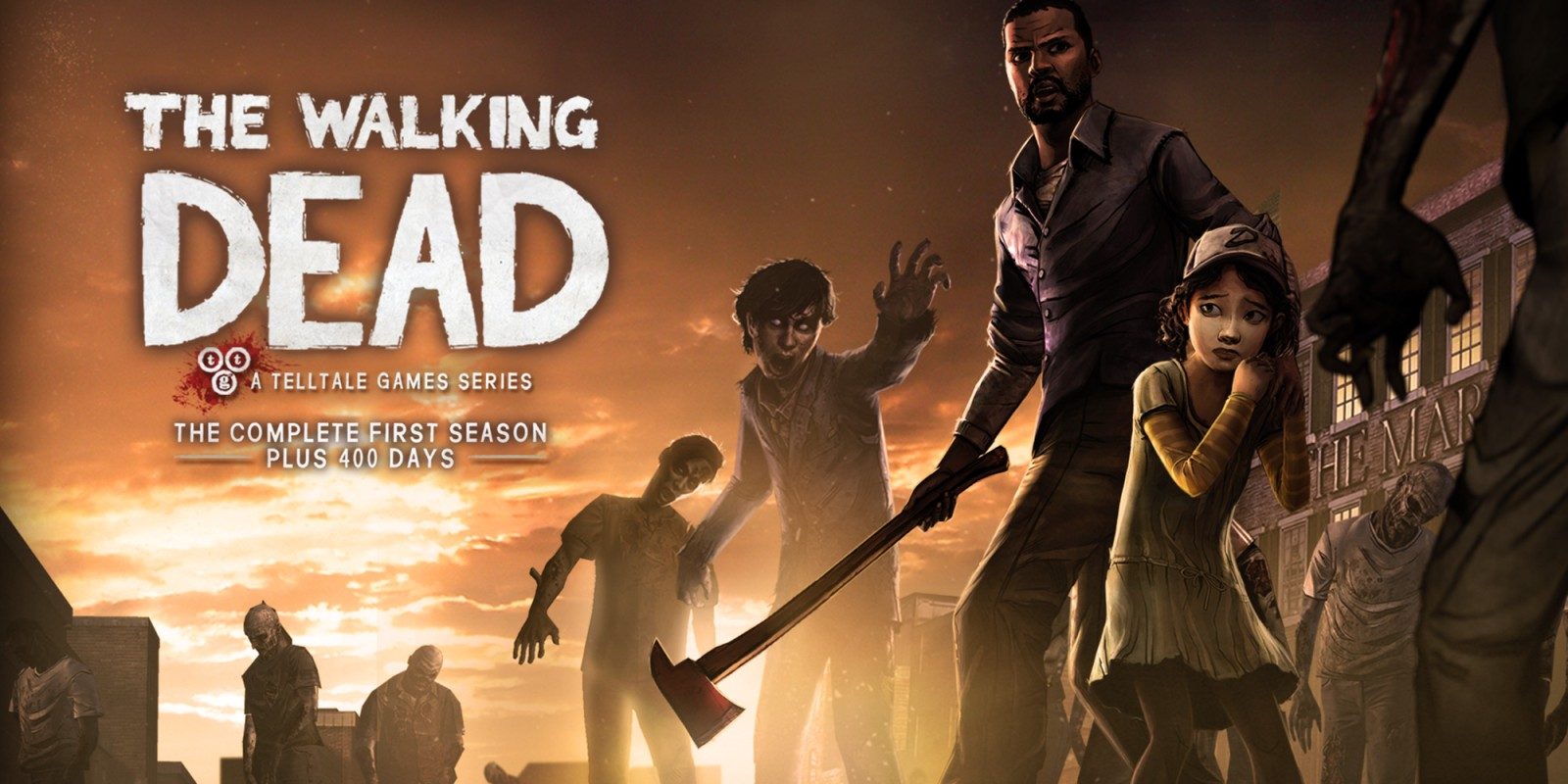 The Walking Dead The Complete First Season Nintendo