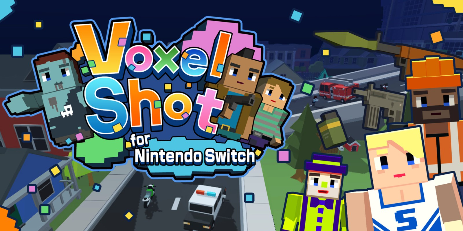Voxel Shot For Nintendo Switch Nintendo Switch Download