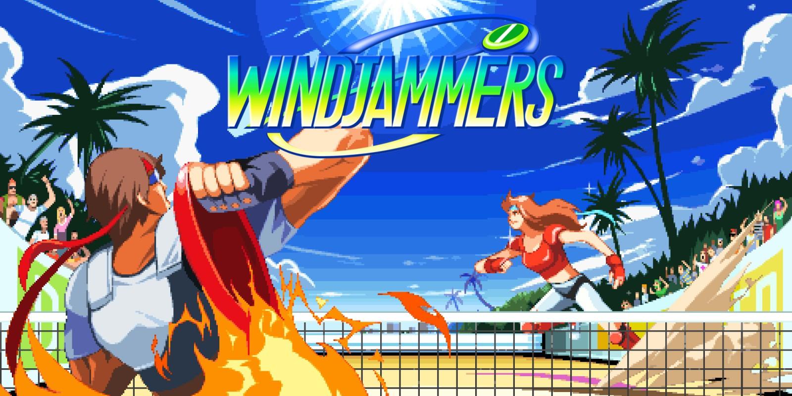 Resultado de imagen de windjammers nintendo.es