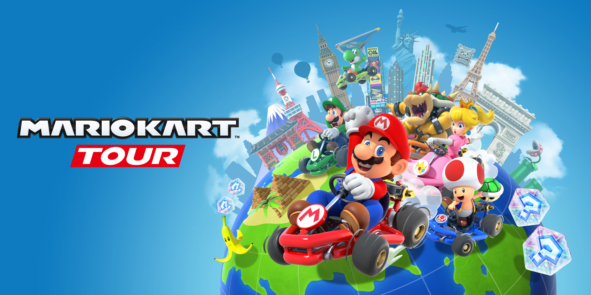 Get ready for Mario Kart Tour on September 25th!