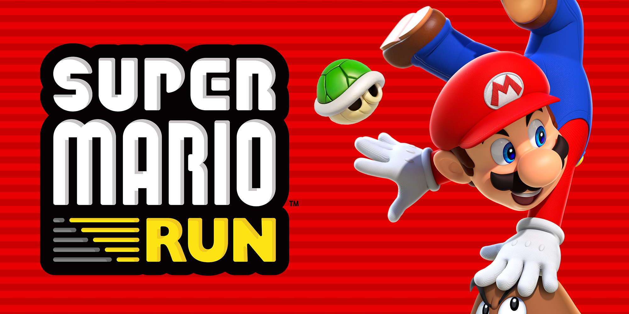 Super Mario Run leaps onto Android™!