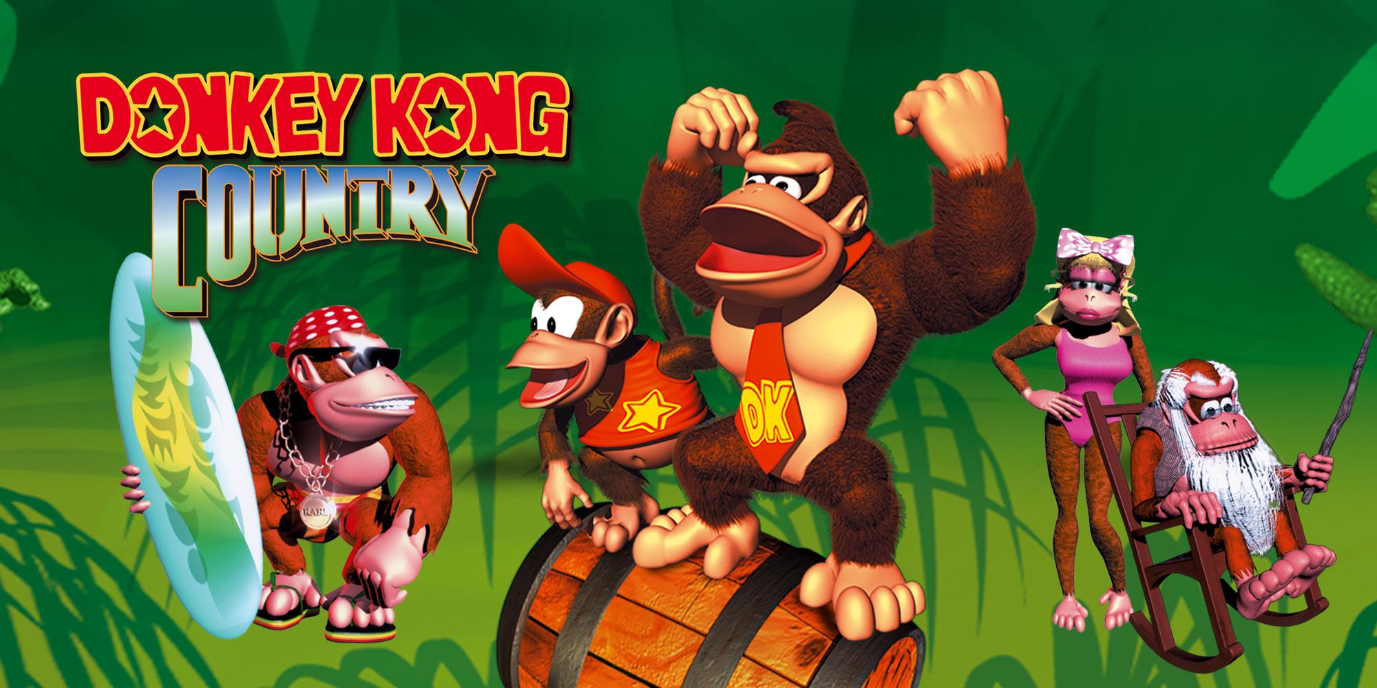 Donkey Kong Country Super Nintendo Games Nintendo