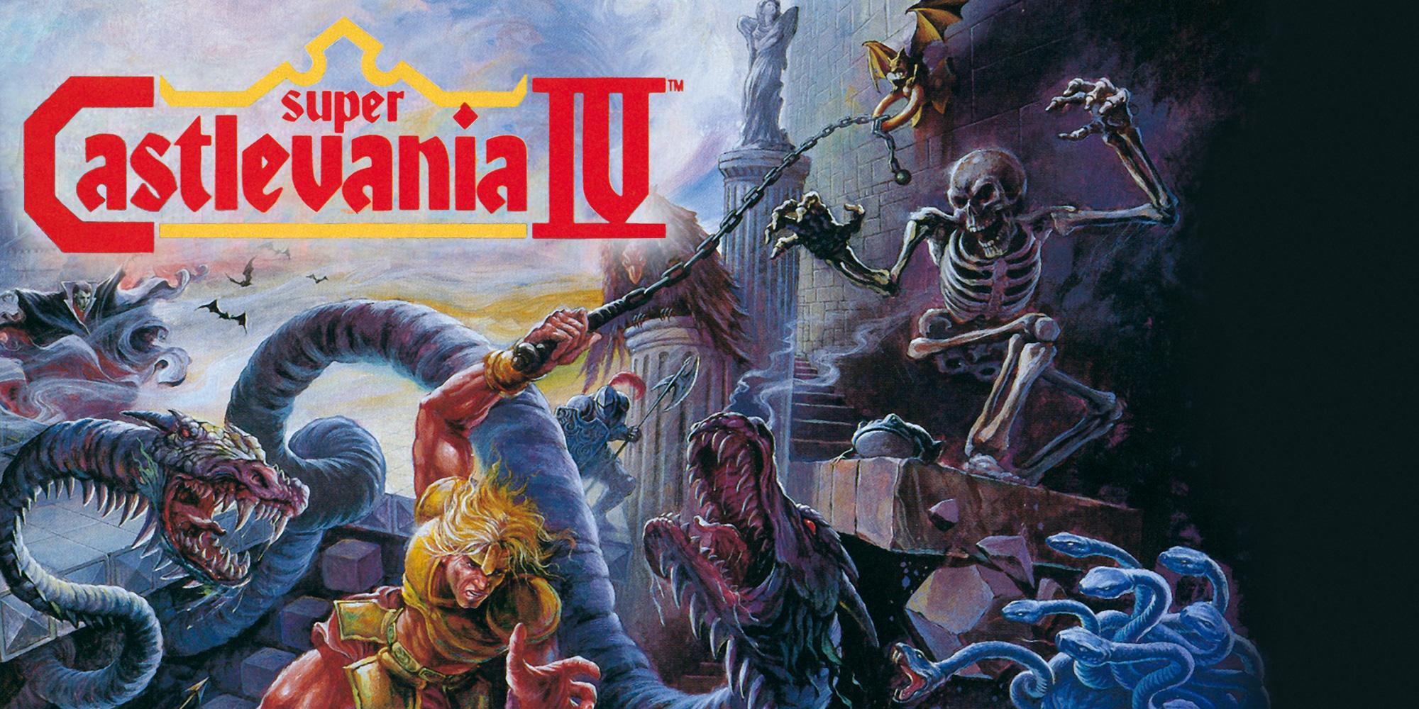 Super Castlevania IV | Super Nintendo |Best Snes Games