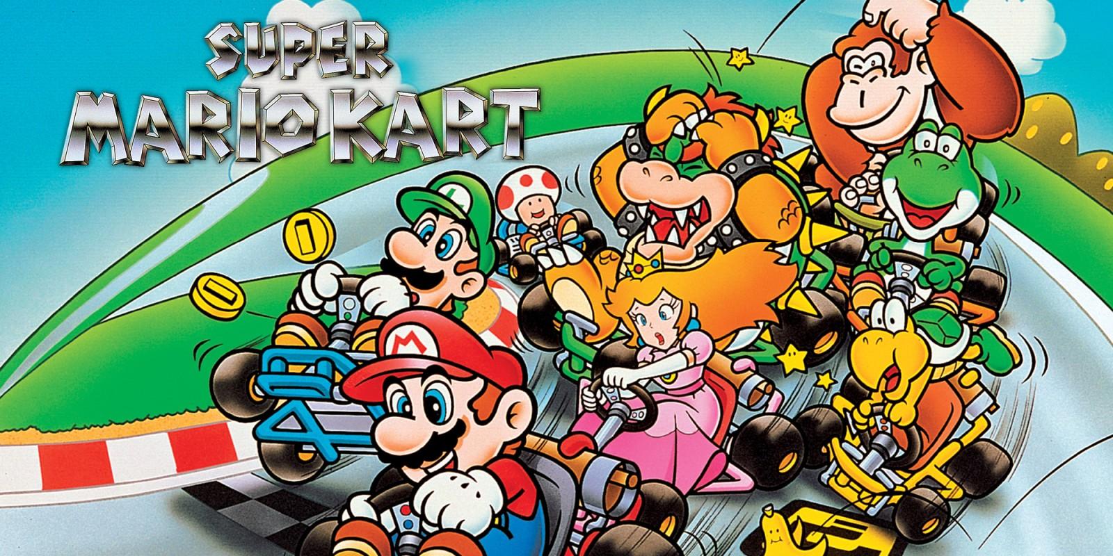 Super Mario Kart | Super Nintendo | Games | Nintendo