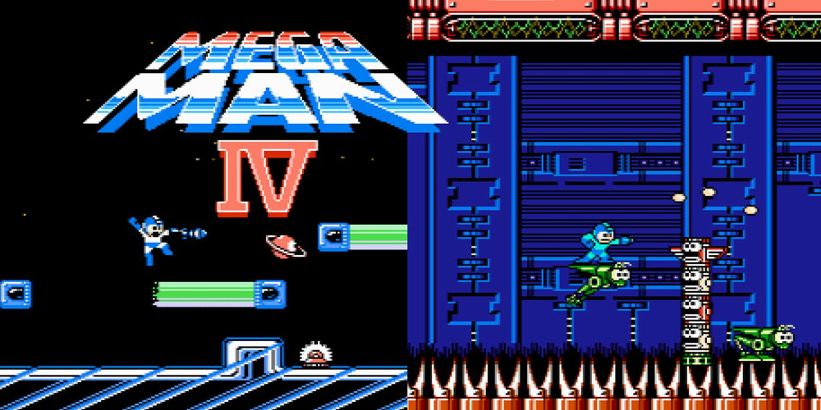 Mega man 4 nes games nintendo - Megaman x virtual console ...