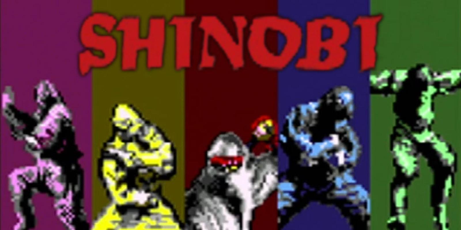 Shinobi Virtual Console Nintendo 3ds Games Nintendo