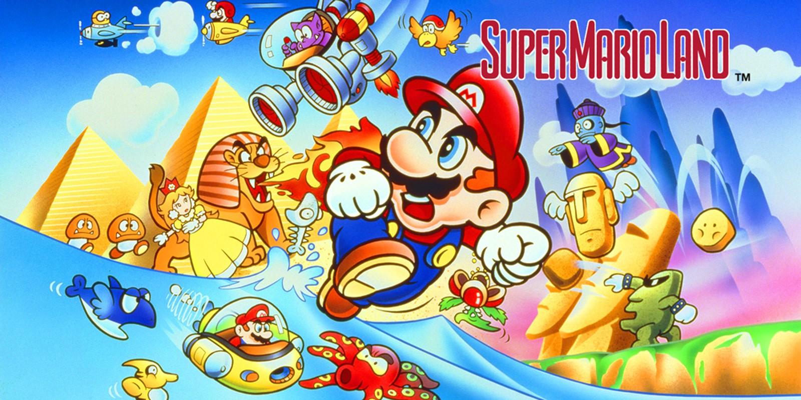 Super Mario Land Game Boy Games Nintendo