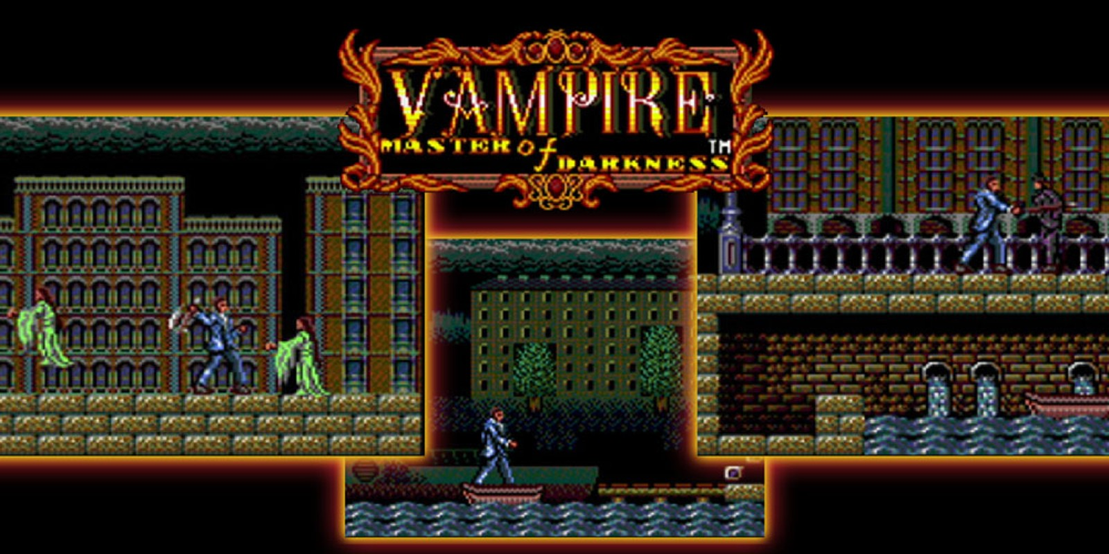 Vampire Master of Darkness SEGA Game Gear Games