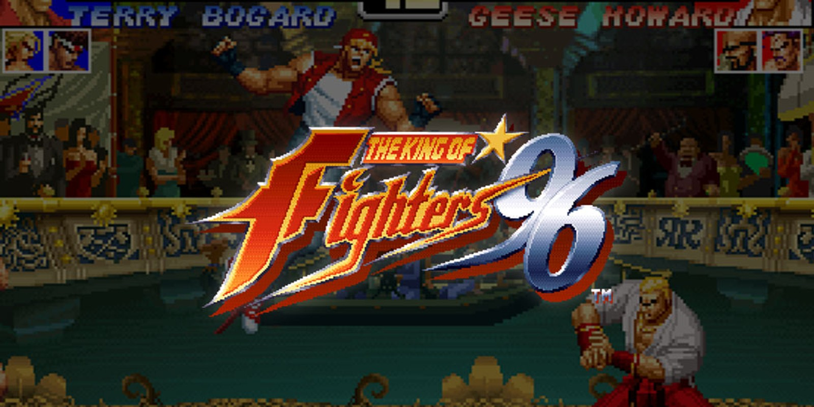 The King Of Fighters 96 Virtual Console Wii Games Nintendo