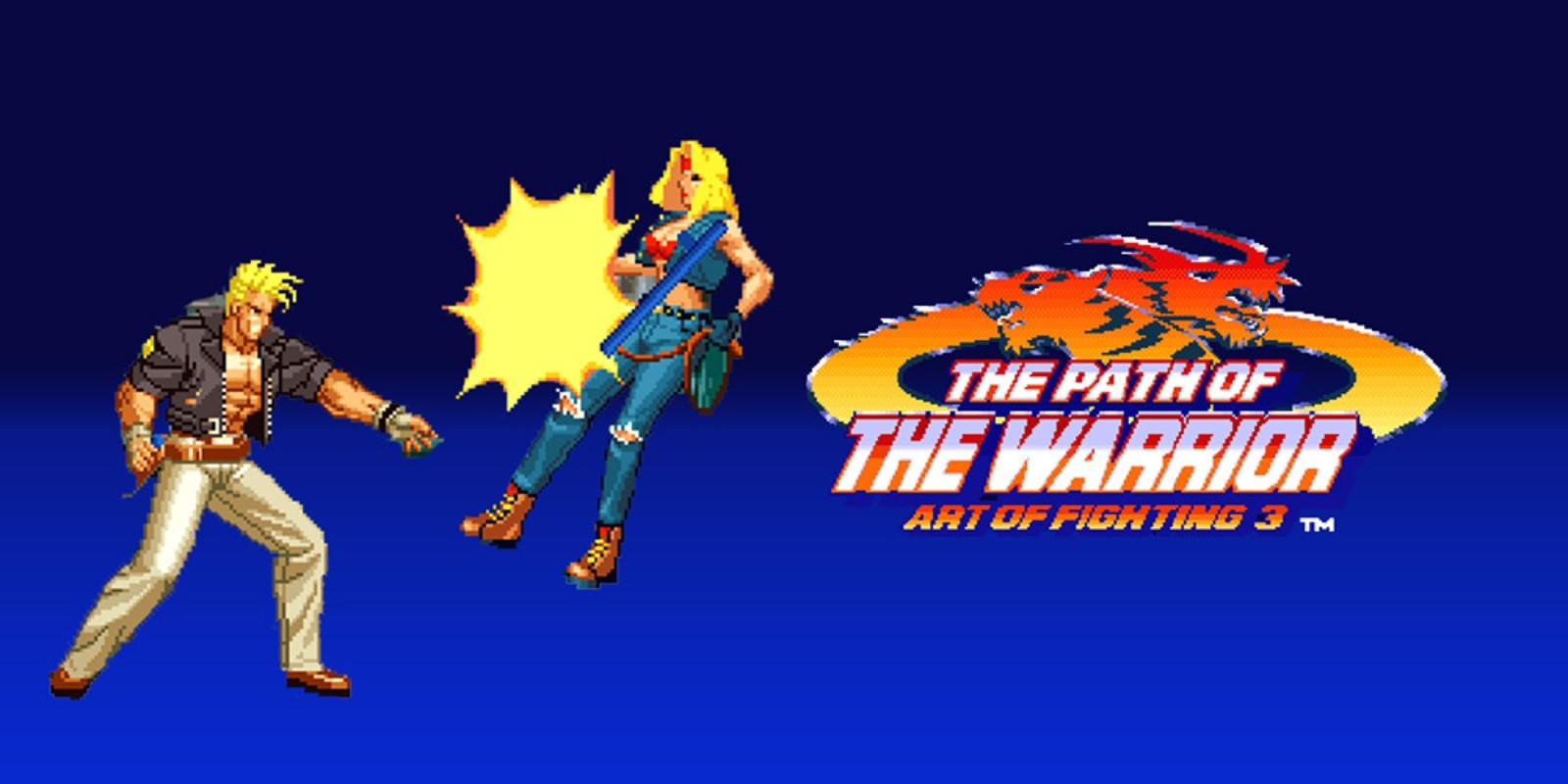 The Path Of The Warrior Art Of Fighting 3 Neogeo Games Nintendo