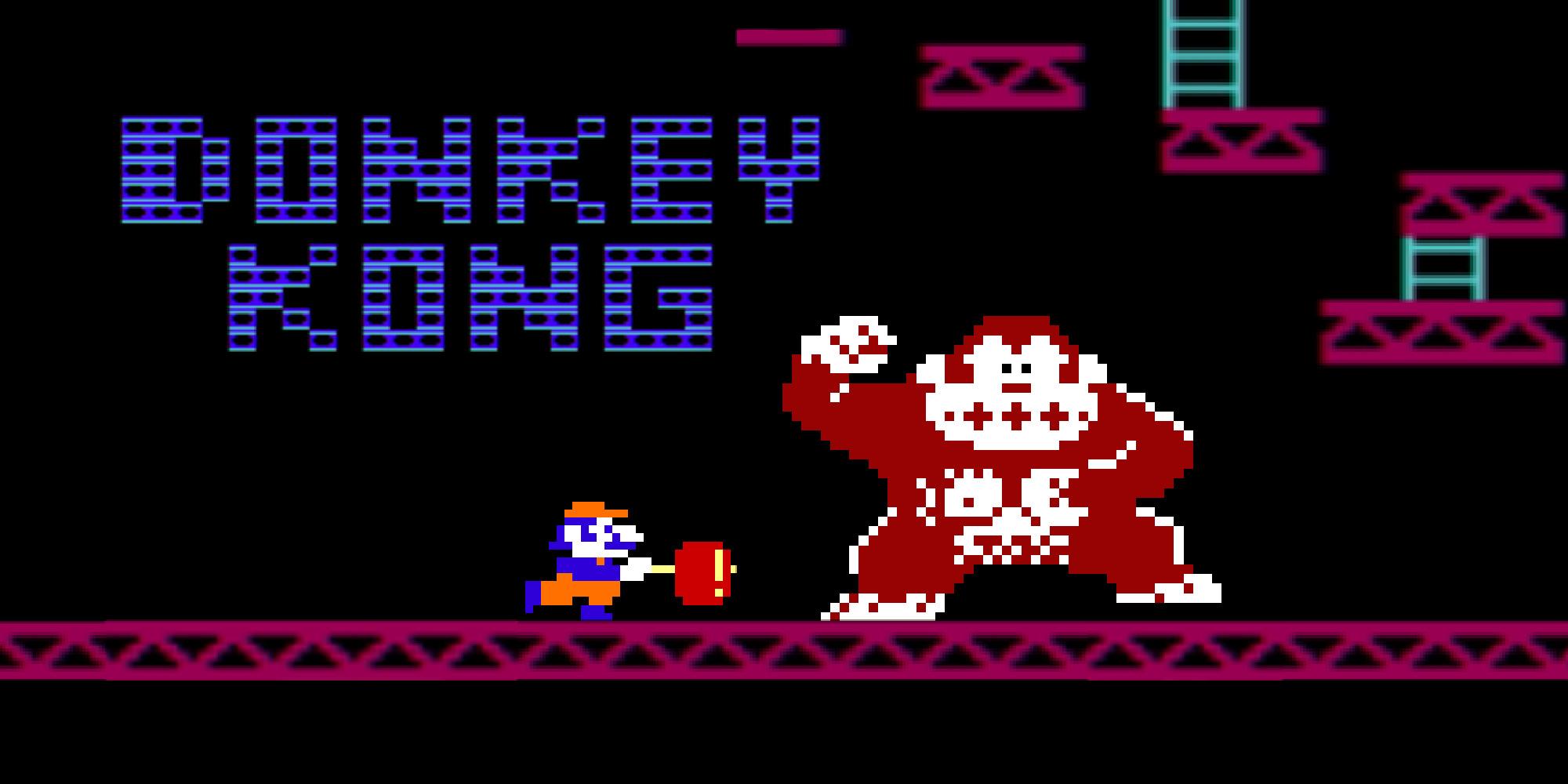 Donkey Kong Nes Juegos Nintendo