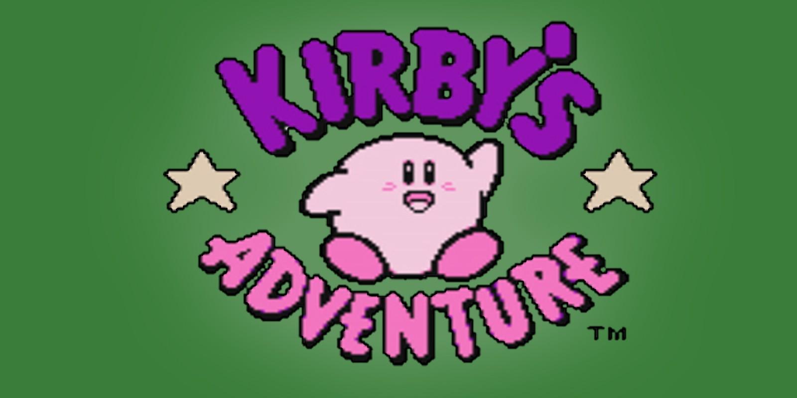 Kirby S Adventure Nes Games Nintendo