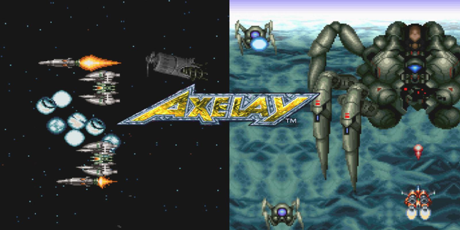 Axelay Super Nintendo Games Nintendo