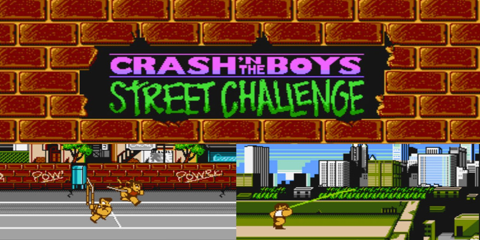 Crash'n the Boys Street Challenge