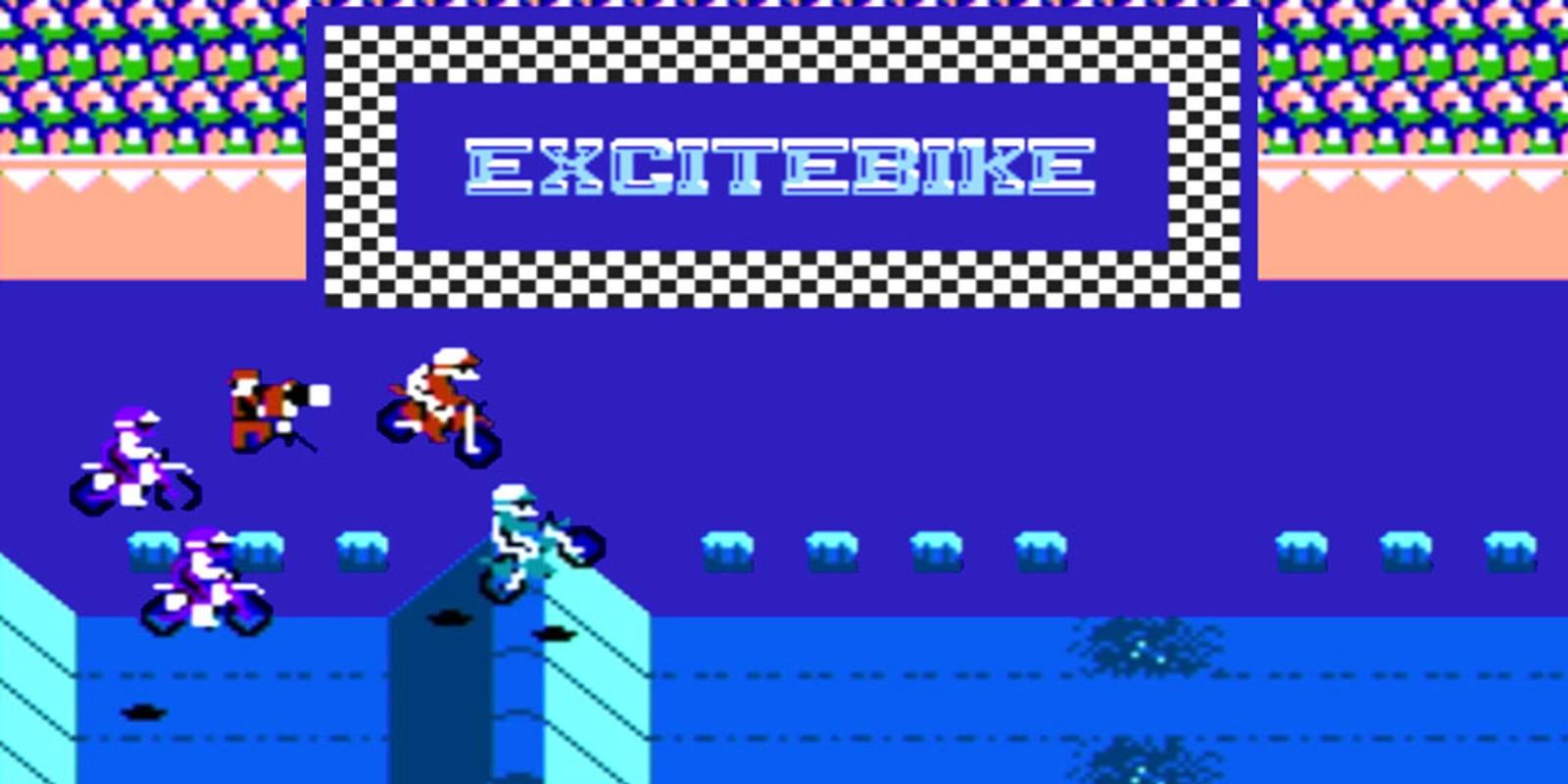 Excitebike Nes Games Nintendo